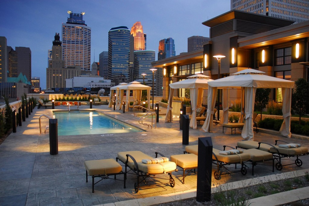 Carlyle condos pool deck
